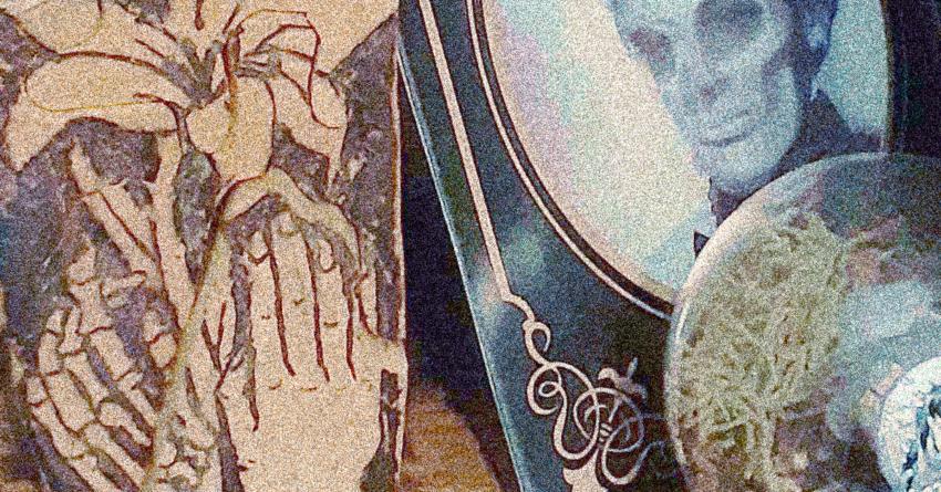Items representing the goddess Hel